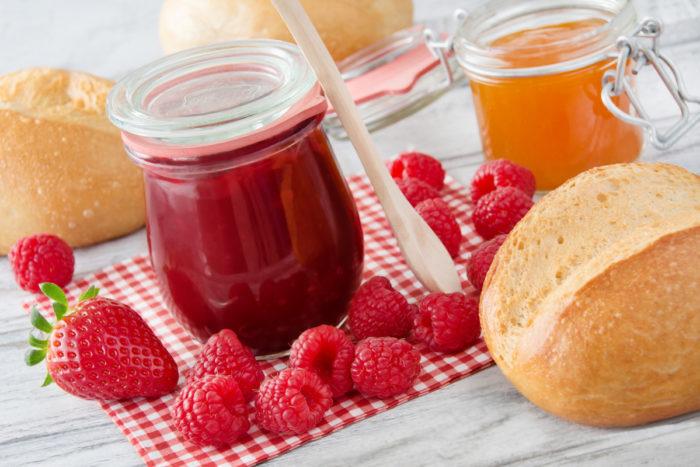 Genießen Sie unsere liebliche Marmelade